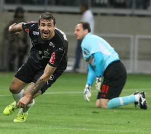 Foto Lucas Pratto do Galo