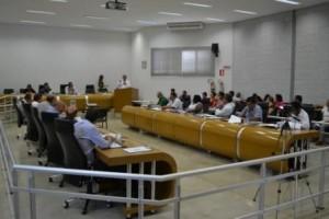 reunião da Câmara de Araxá