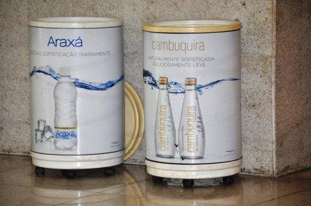 Foto Águas de Araxá no projeto da Codemig