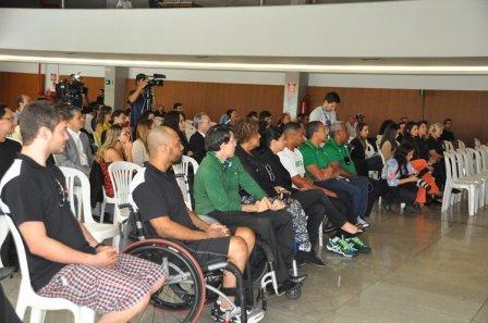 Foto Atletas paralímpios - Codemig e águas de Araxá