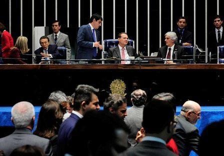 Foto Senado aprova fim de doações de empresas à políticos