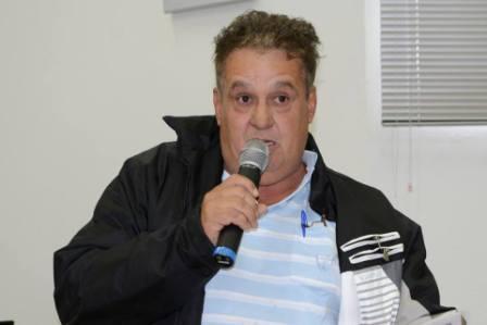 Foto vereador José Gaspar Pezão