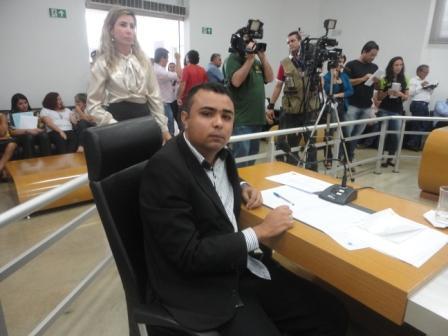 Vereador Romário do Picolé que teve um votona eleição
