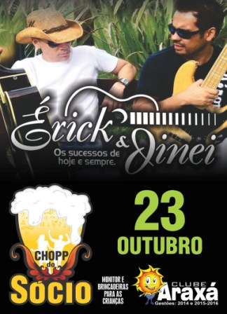 Banner Chopp do Socio - Outubro 2015