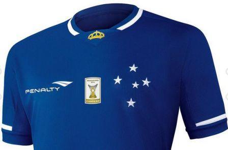 Foto camisa do Cruzeiro
