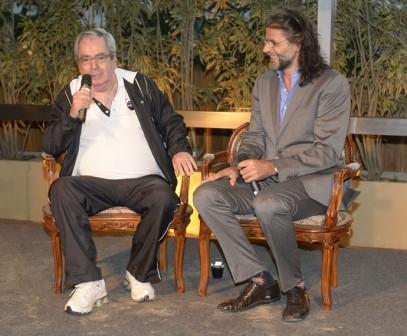 Foto nova novela Benedito Ruy e Luiz Fernando