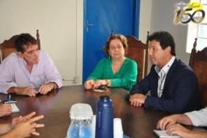 Aracely, Lídia e Valverde