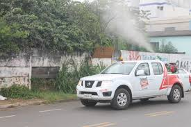 Foto Dengue Araxá fumacê