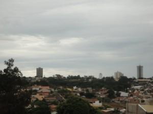 Tempo chuvoso Araxá