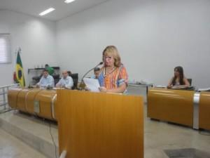 vereadora Onilda Soares do PT