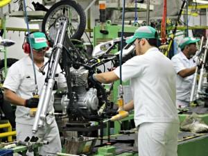 Queda na produção de motos 1