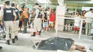 Morte de torcedor em MG