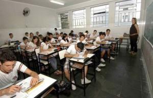 Escola Estadual Dona Antônia Valadares da cidade de Divinóplolis. Crédito: Lúcia Sebe/Secom MG Data: 25-08-2011 Local: Divinópolis