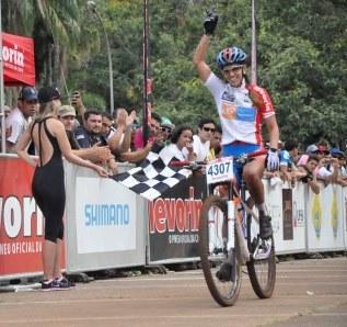 Isabela Lacerda, tri-campeã da CIMTB e vencedora da etapa de Araxá em 2014