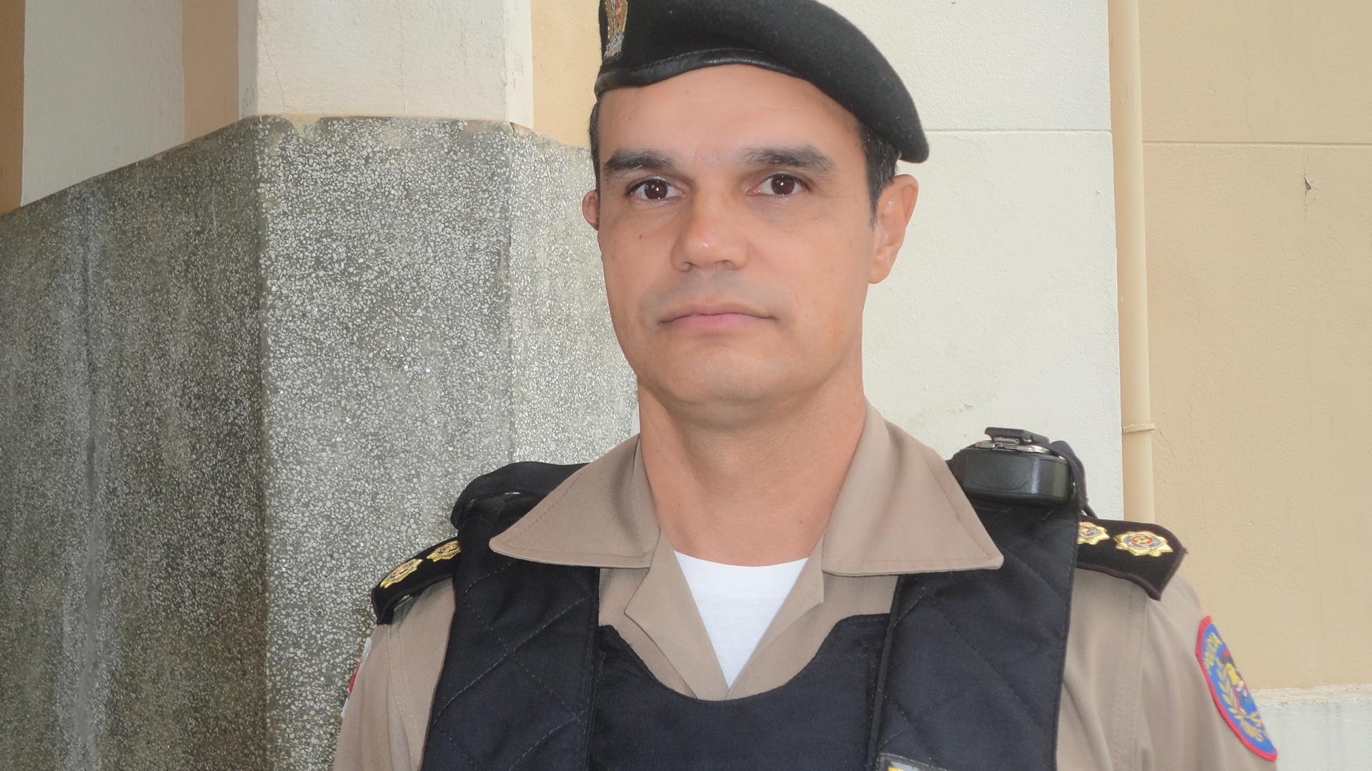 Comandante do 37º  BPM de Araxá rebate críticas