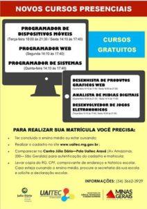 CURSOS UAITEC 2016 - MINAS DIGITAL