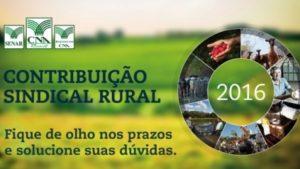 Contribuição Sindica Rural2016