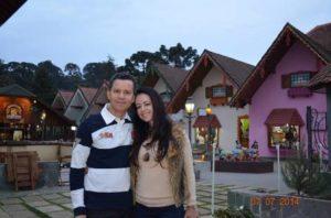 Roberto Rocha e Melissa Grossi