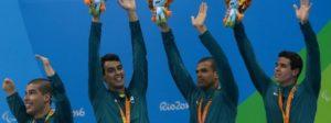 17/09/2016 - Brasil , Rio de Janeiro, Estadio Aquatico Olimpico - Jogos Paralímpicos Rio 2016 - Natacao - 200m medley masculino (SM14)- Medalha de Bronze - ©Cleber Mendes/MPIX/CPB